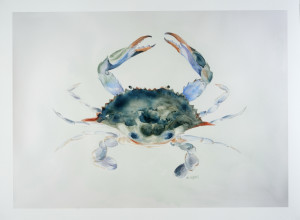 "giclee print of ""the Crab"""