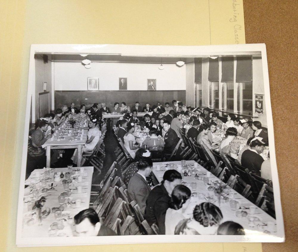 Inkster High School senior banquet, 1940