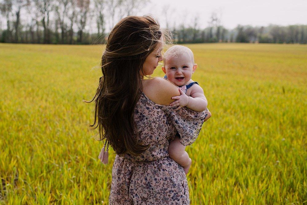Intimate motherhood photography taken by Emily Shepherd of Emmy Shepherd Photography, LLC.