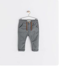 Trousers with front pocket  Zara