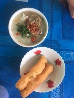 Bor Bor Fish Porridge in Battambang