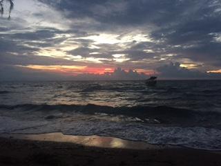Sunset at Kep