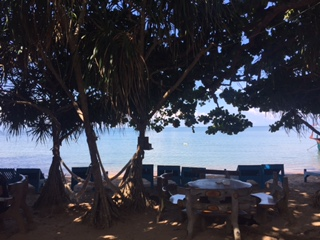 View from my peaceful bungalow on Koh Tonsay