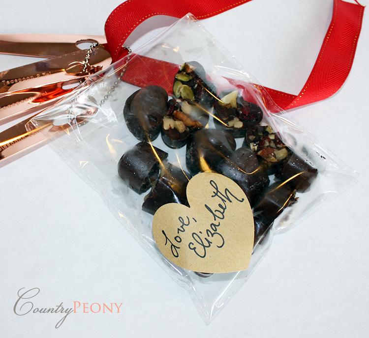 Dark Chocolate Valentine's Day Candy