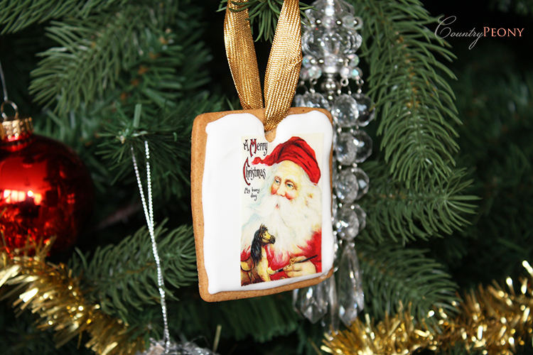DIY Christmas Cookie Ornament