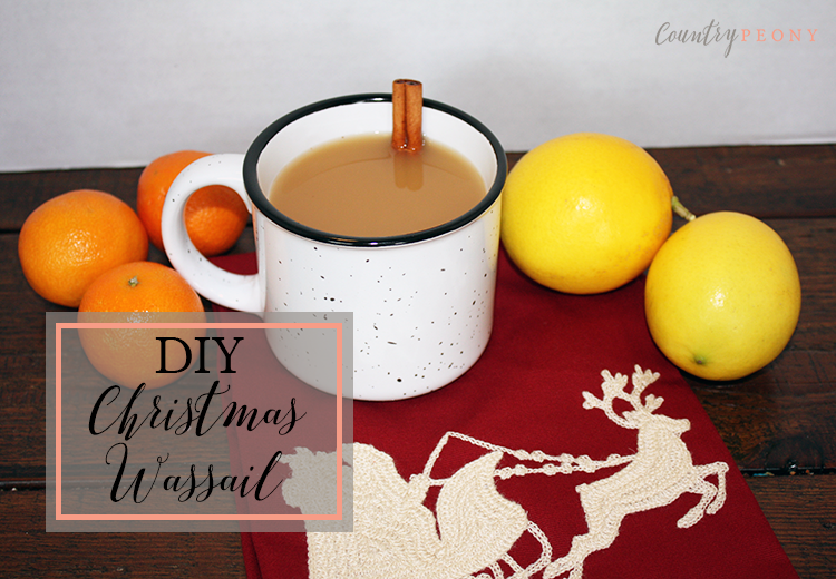 DIY Christmas Wassail