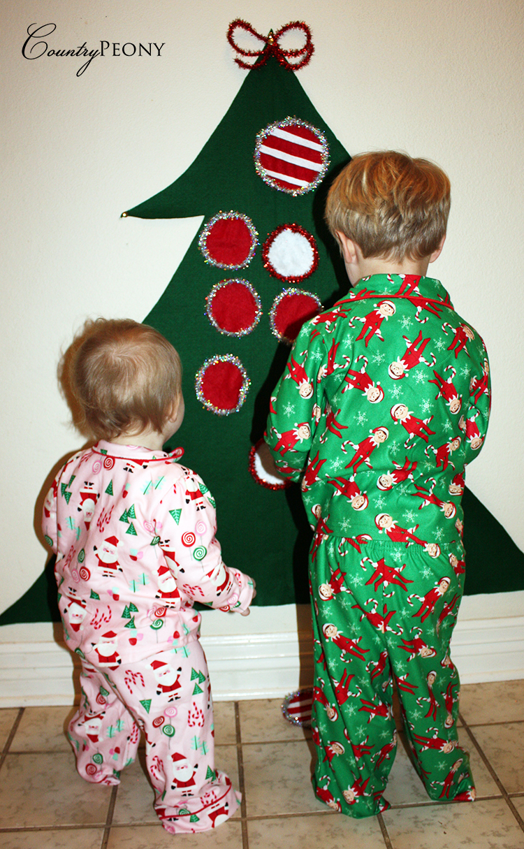DIY Felt Christmas Kids Tree