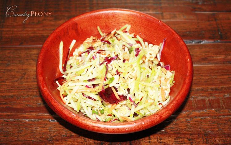 Ramen Broccoli Coleslaw