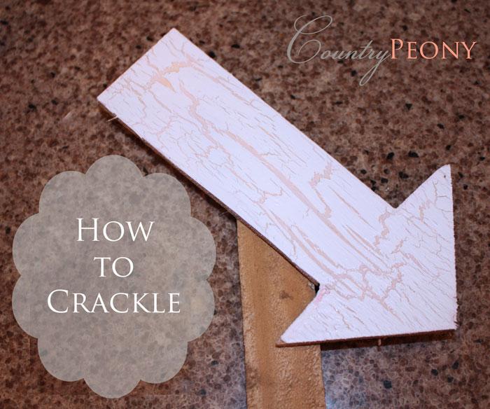 DIY Crackled Paint