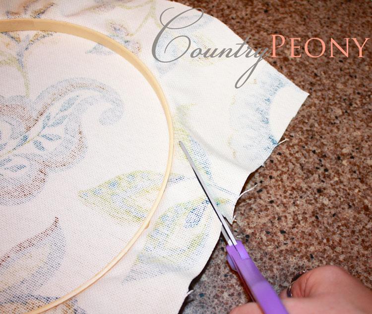 DIY Embroidery Hoop Art