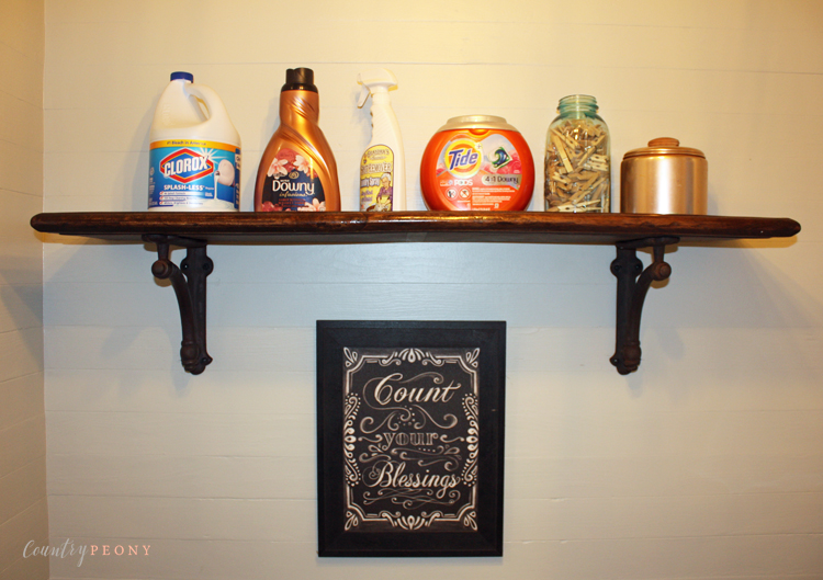 Rub 'n Buff - Laundry Room Details