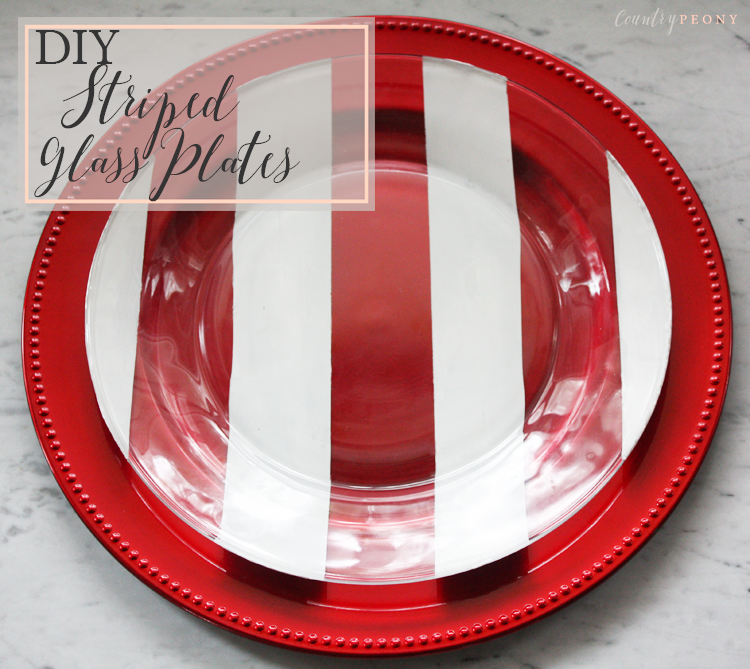 DIY Christmas Striped Glass Plates.png