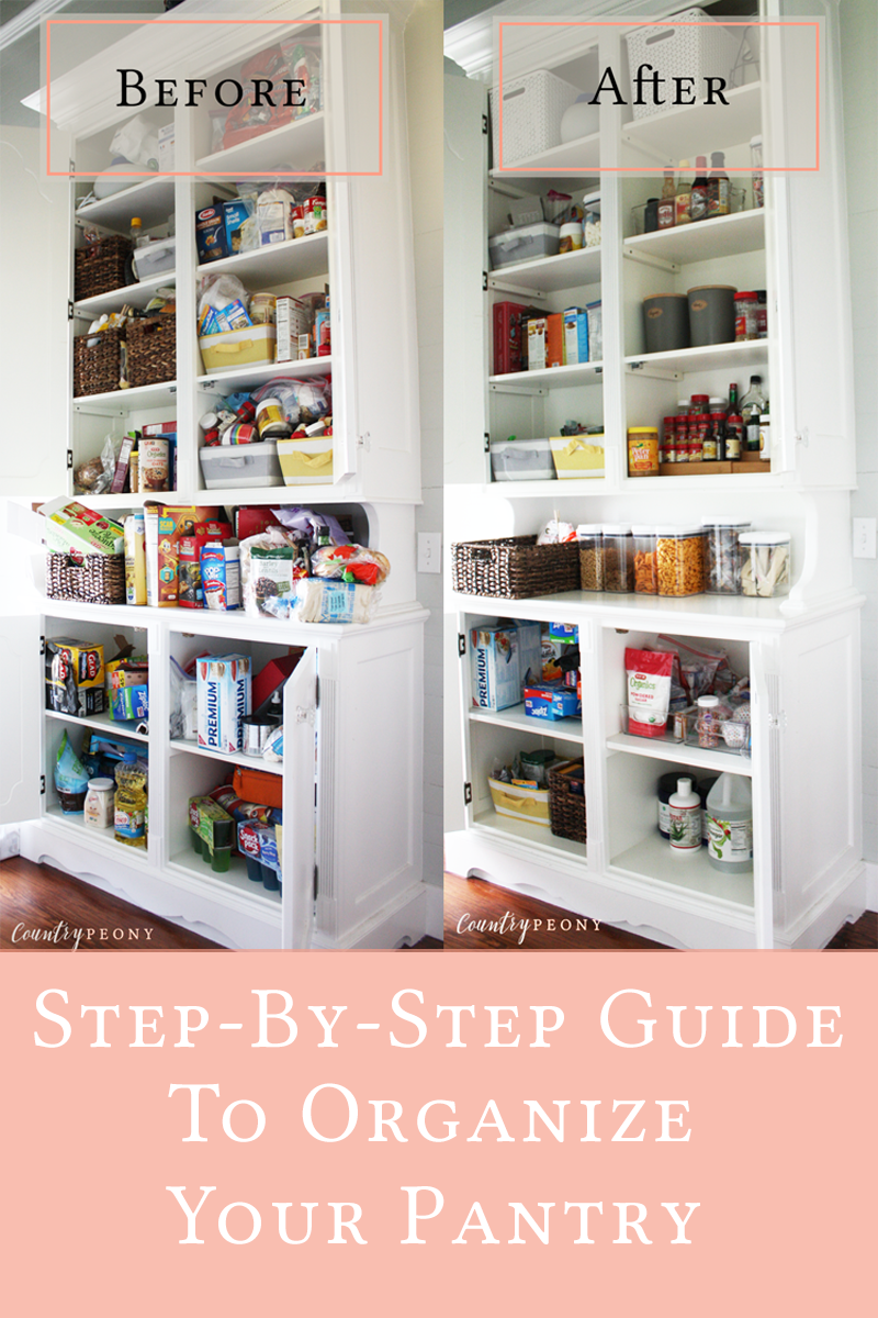 DIY Guide to Organize your Pantry