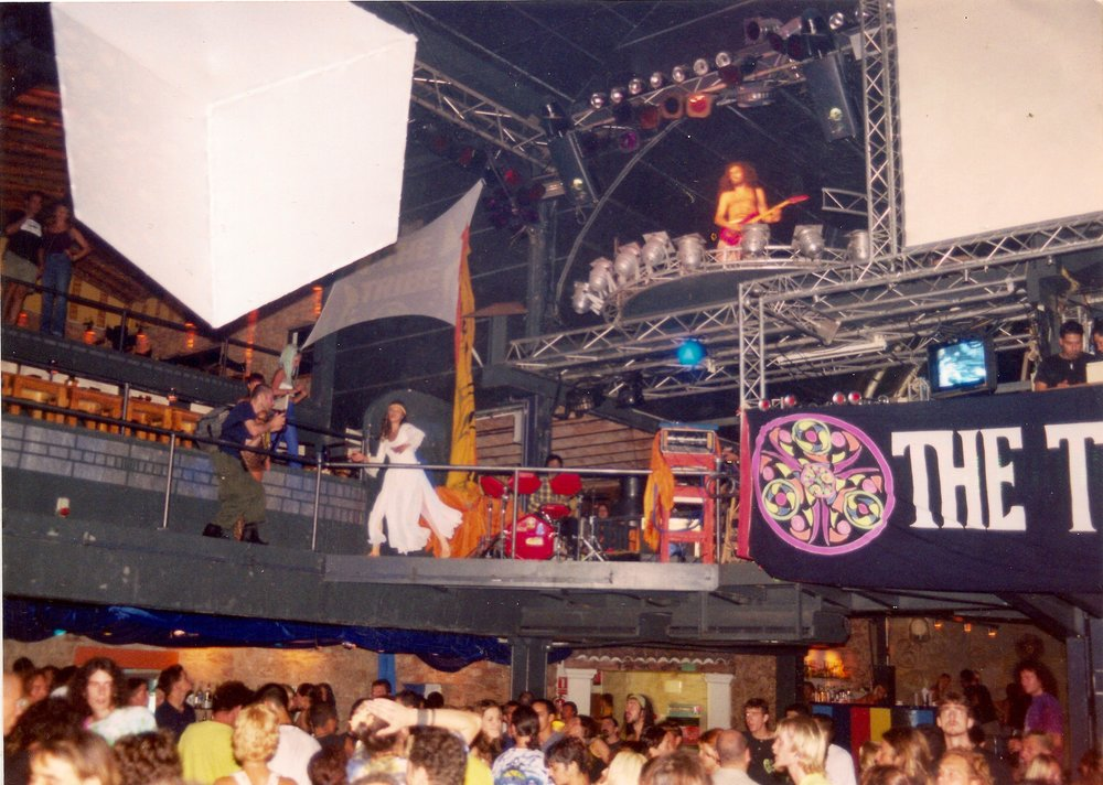 Lenny, Eva, Luigi, Omar Live at The Tribe 1997.jpeg