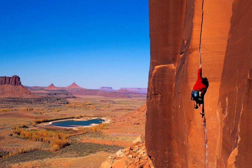 rock climbing southern utah