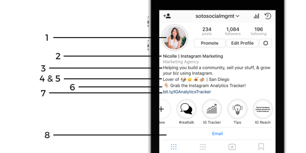 How to Write the Perfect Instagram Bio