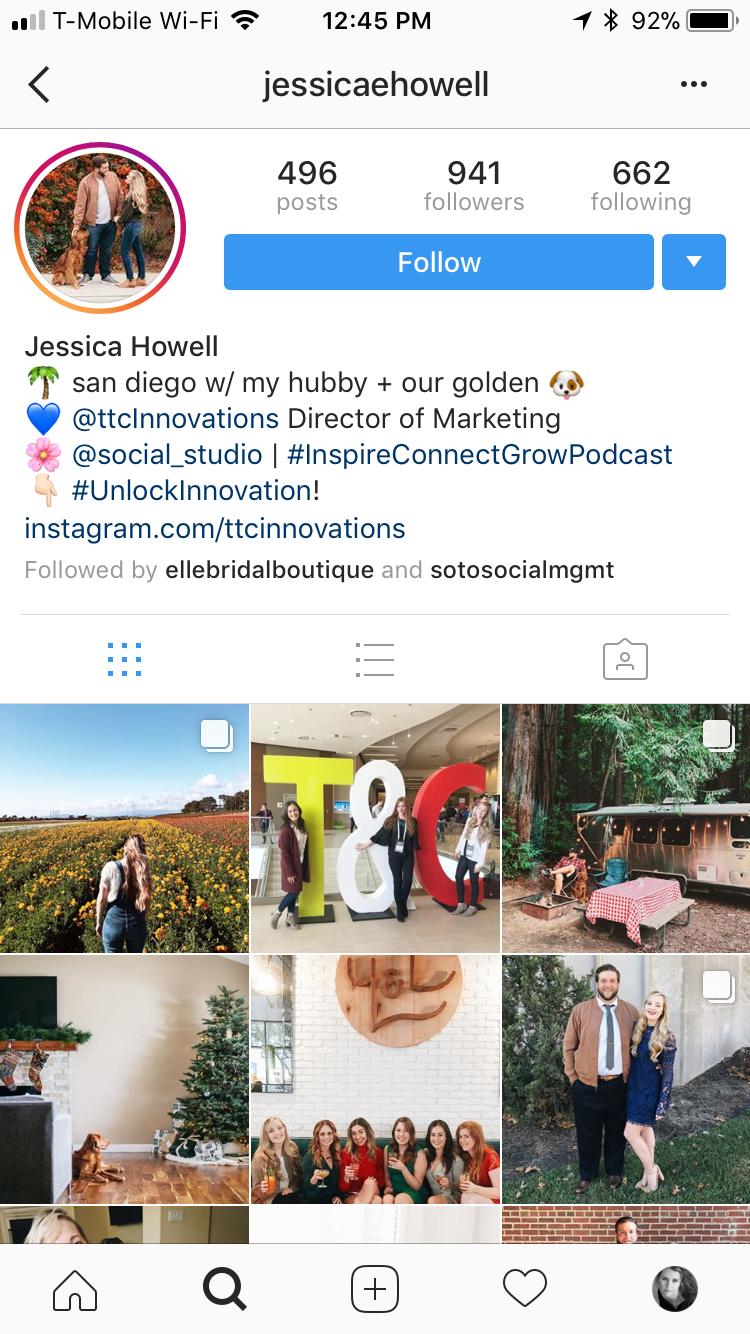 Instagram/ JessicaEHowell
