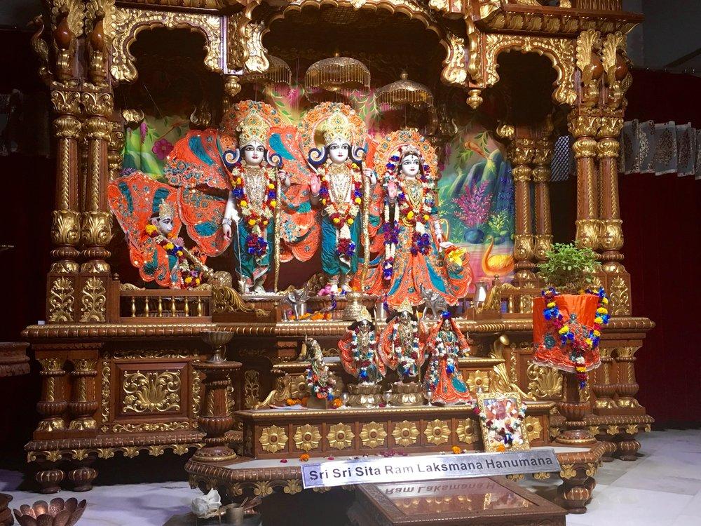 Sri Sri Sita Ram Laksmana Hanumana - New Delhi, India