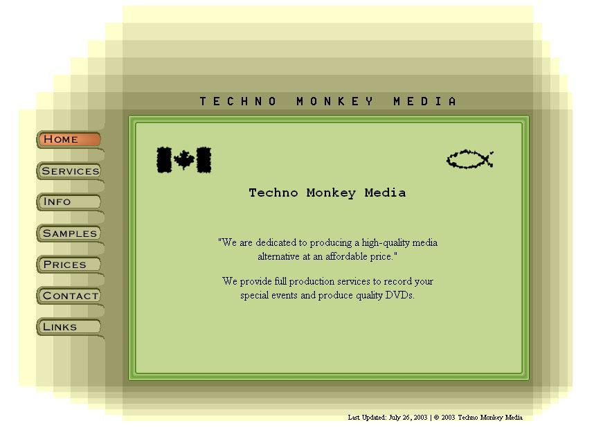 2003 Website