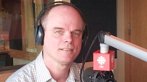 John Romein on CBC Radio