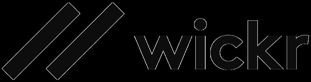 Horizontal Wickr Logo  -