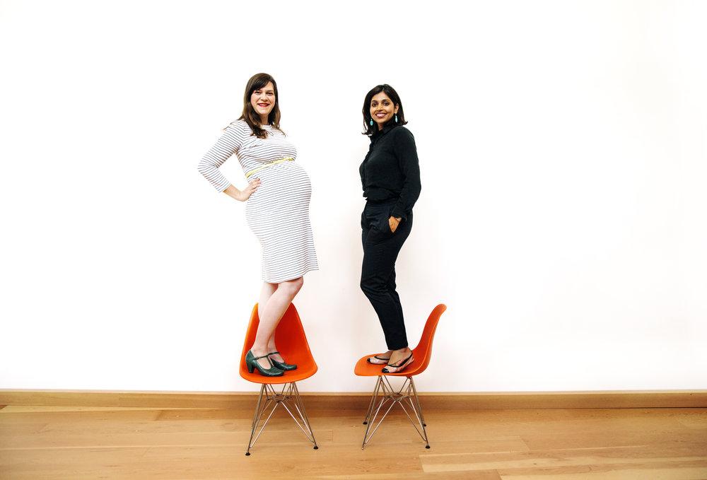 Erin Summers & Zainab Ghadiyali  Co-Founders, wogrammer