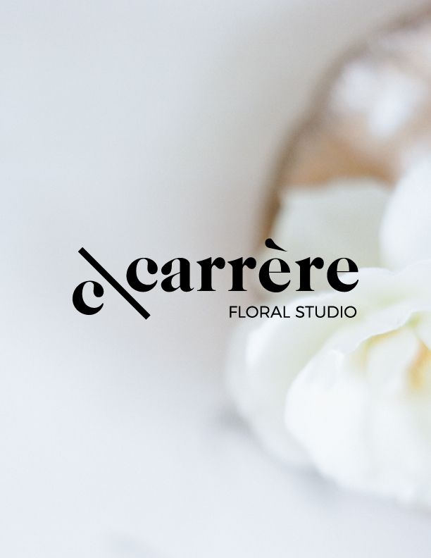 C\CARRÈRE FLORAL - BRANDING, PHOTOGRAPHY & WEBSITE  www.c-carrere.com