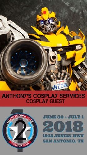 Anthony's Cosplay Services