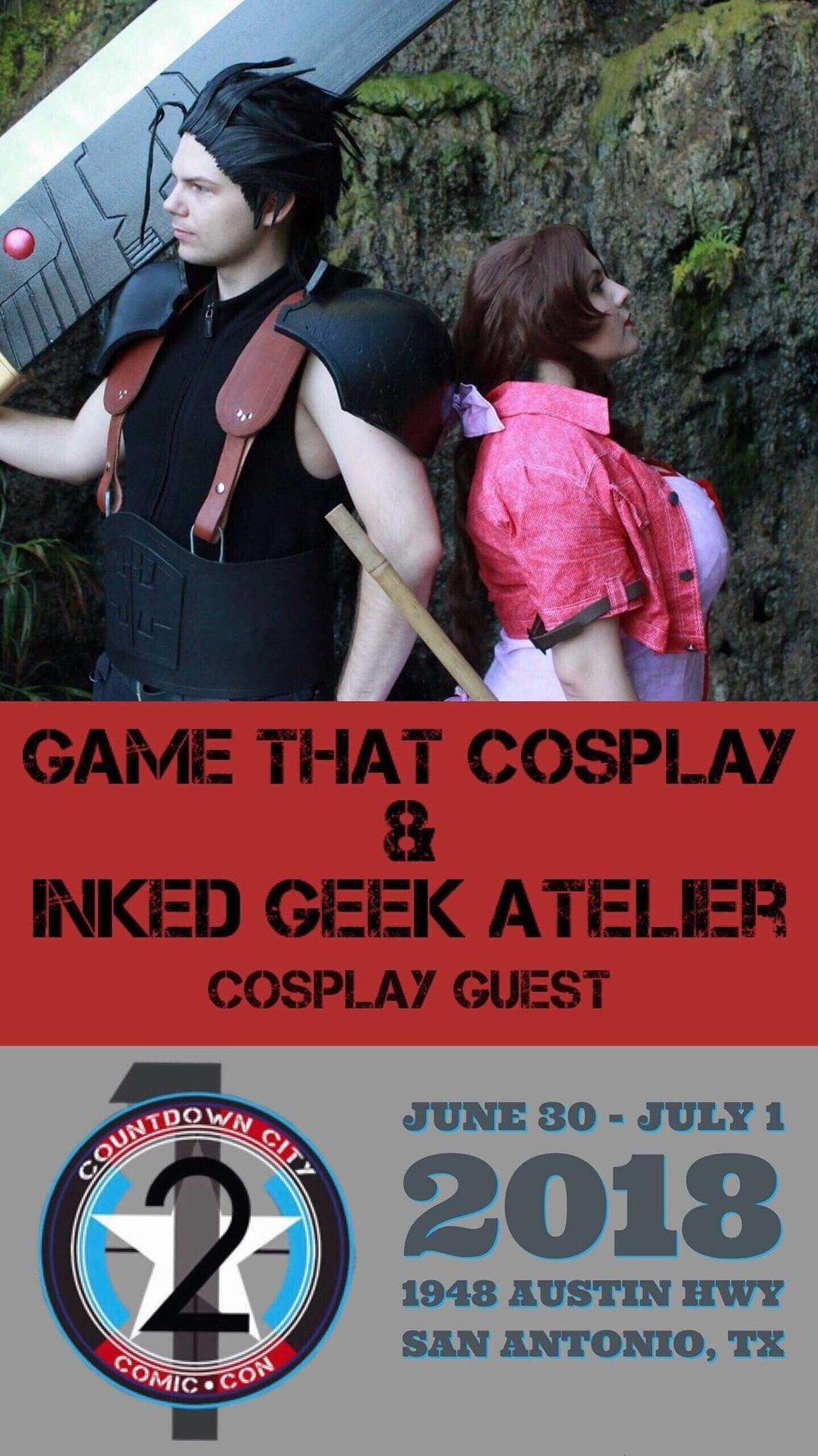 Game That Cosplay  & Inked Geek Altelier