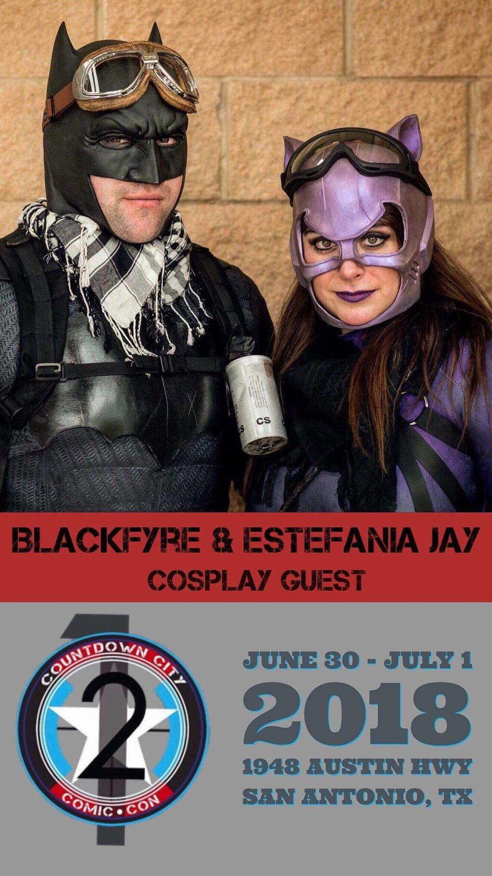 Blackfyre  & Estefania Jay