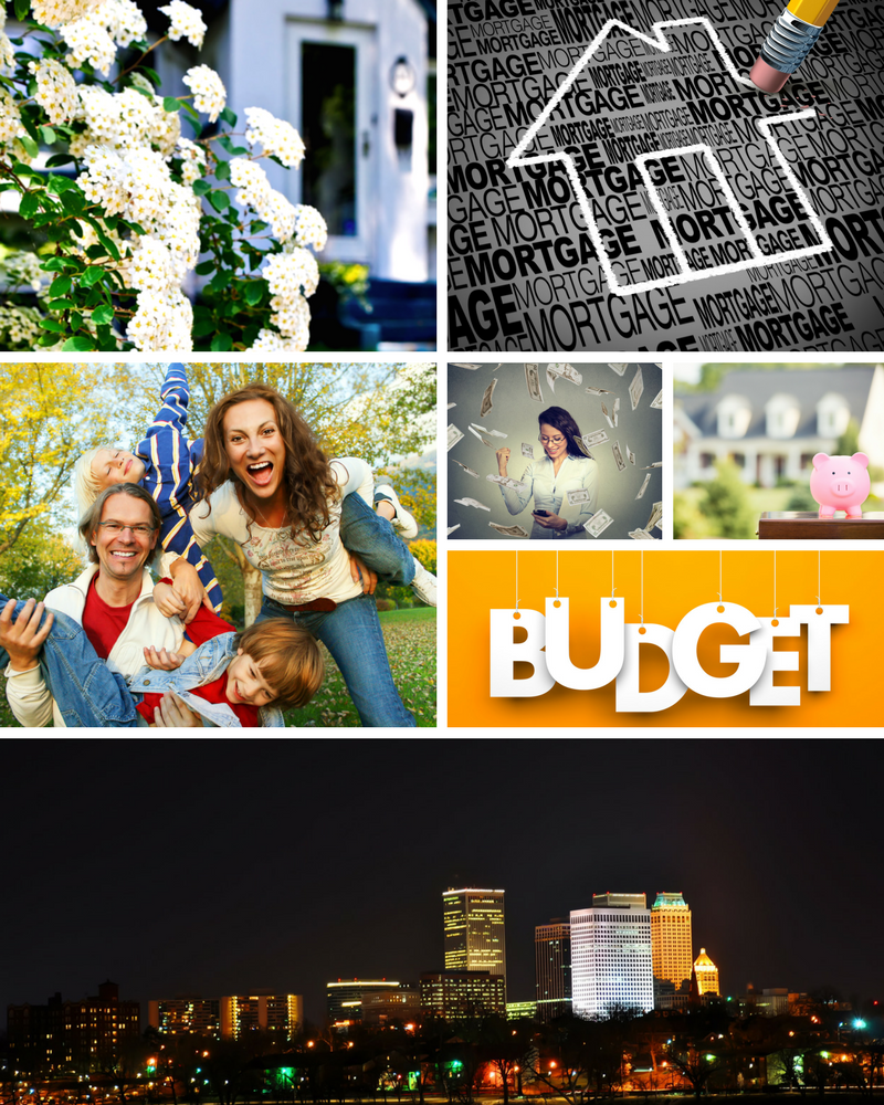 Cityscape Home Mortgage Mood Board