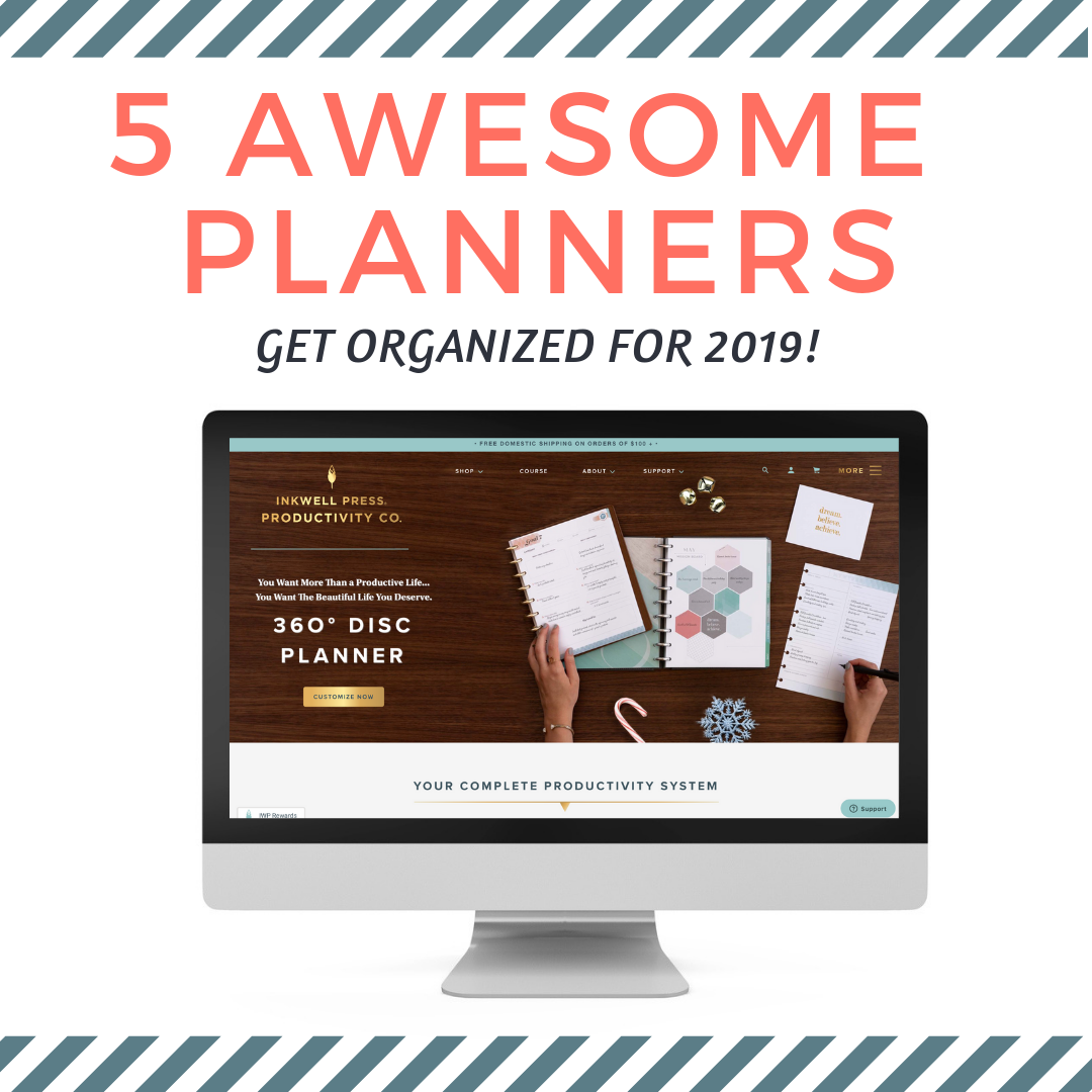 photograph relating to The Simplified Planner App identified as 5 Remarkable Planners that will choose oneself ready for 2019
