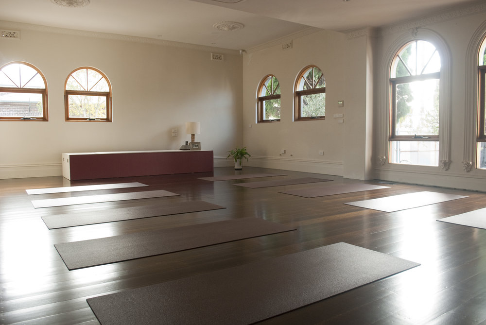 Main Yoga/Pilates Studio space at Body Bliss Wellbeing