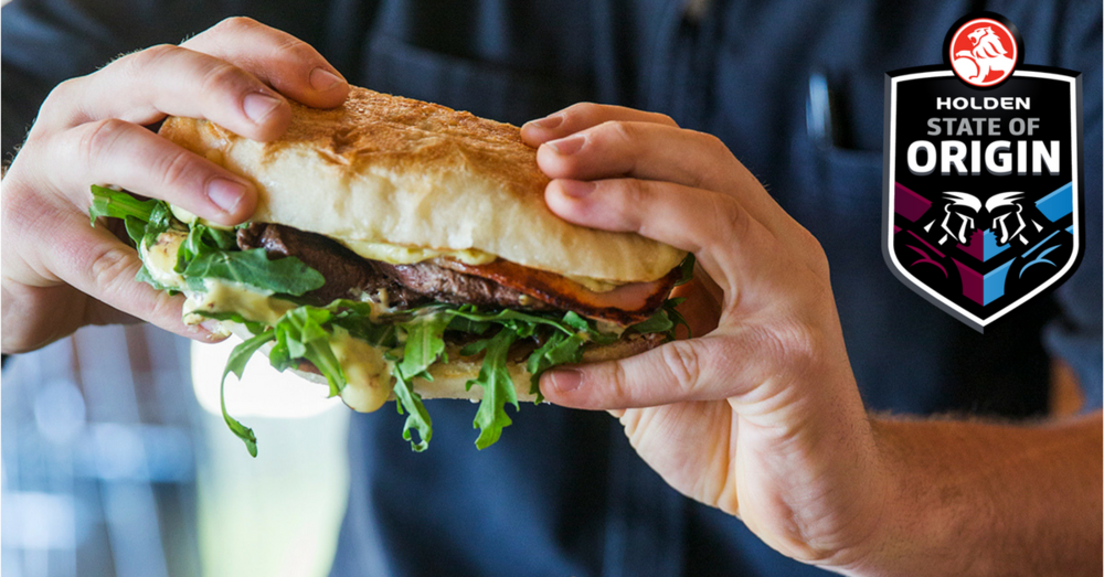 STEAK OF ORIGIN - Every game played live & loud in the Corner Bar with $20 Steak Sandwiches!