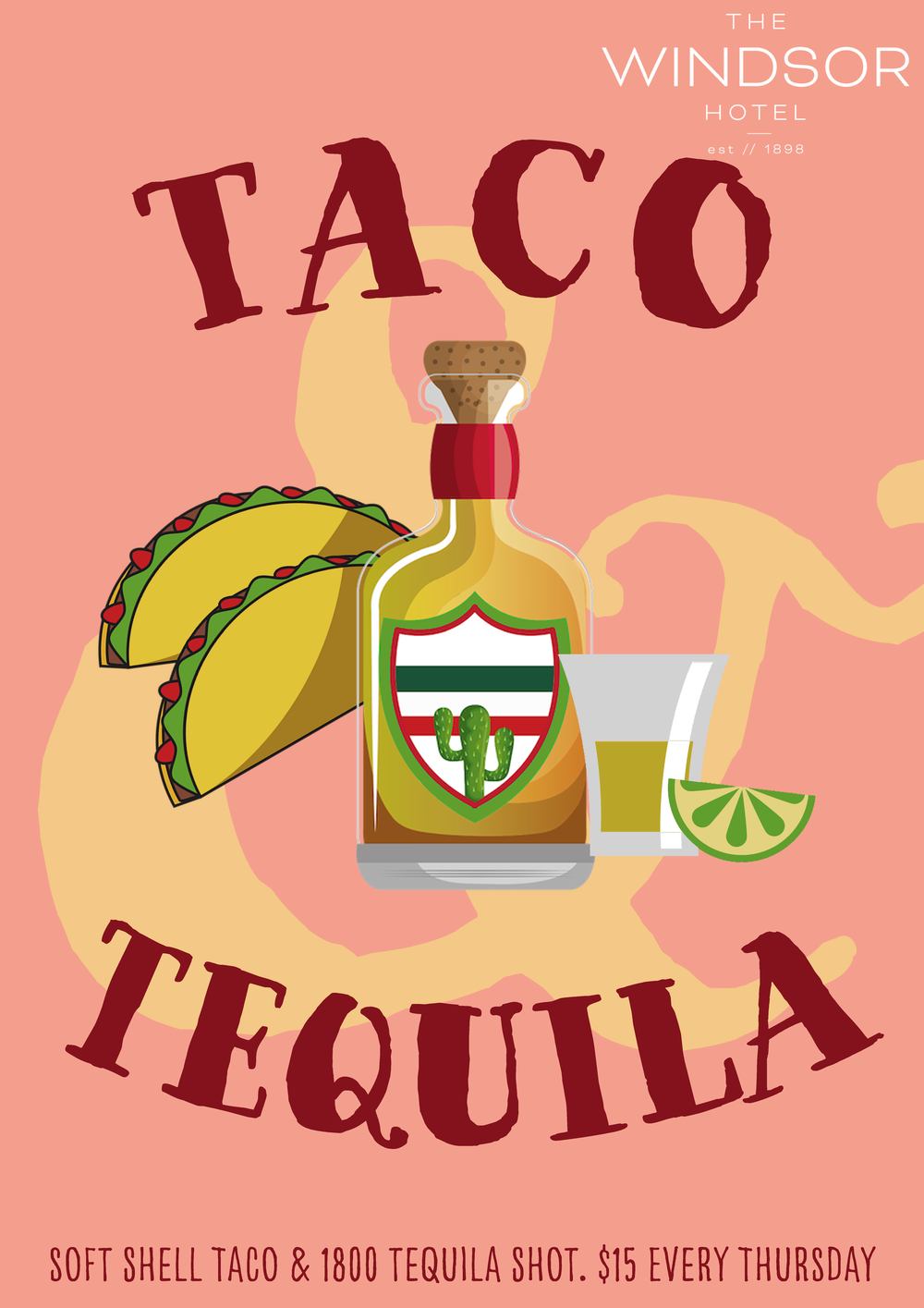 TACO & TEQUILA THURSDAYS   Thursday like it's Friday with a taco & tequila board for only $15. Why not have 3?!  // Bars only //