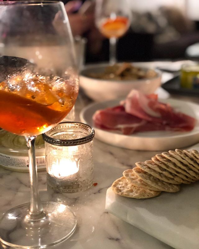 ✨more camaraderie and charcuterie (and aperol spritzes) in 2019✨ 🥂🍊🧀🥖🍖