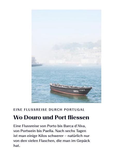 Wo Douro und Port fliessen
