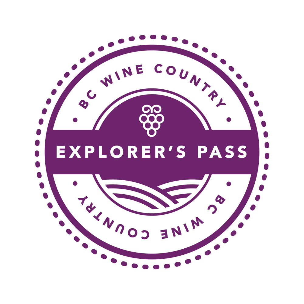 BC Wine Pass Program - Meet the Explorer's Pass. Your exclusive access to curated experiences as your taste your way through BC Wine country. Complimentary tastings at dozens of winery partners makes this all access pass a must for your wine country visit.