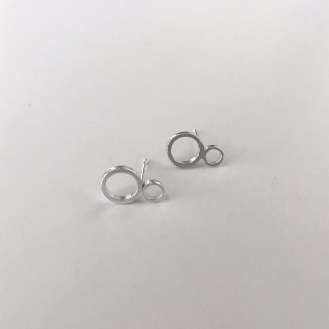 Kate Wainwright Jewellery Silver Mehndi Studs
