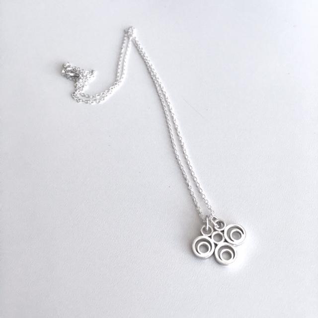 Kate Wainwright Jewellery Silver Mehndi Necklace
