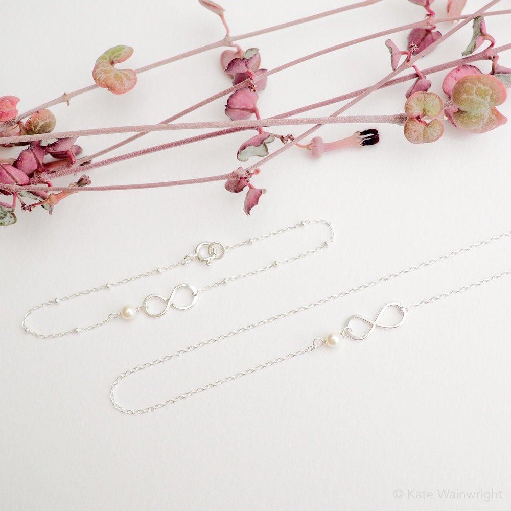 Ophelia swarovski weeding jewellery