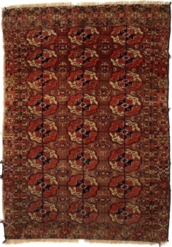 Tekke Turkaman, Teke Turkaman, Tekke, Terkman, Turkeman, Antique Rug, Antique Carpet
