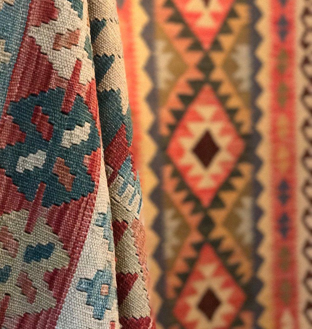 Bakhtiyar Bazaar, Kelim, Kilim, Persian Rug, Persian Carpet, Hampshire, Wiltshire