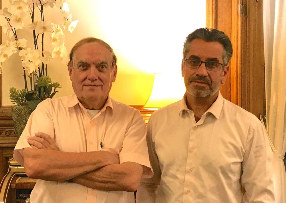 Jean-Pierre BOIVIN & Jean-Marc PEYRICAL - Fondateur et ancien directeur de l'IDPADirecteur de l'IDPA