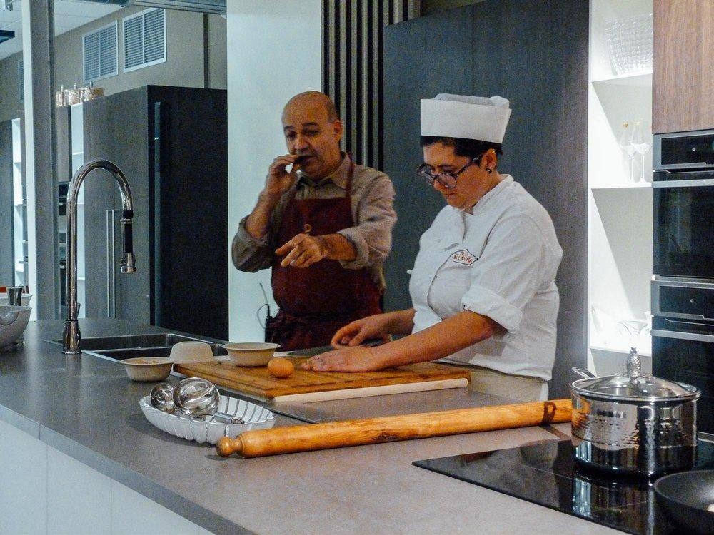 Oakman Inns Head Chefs undertake pasta masterclass at FICO Eataly World in Bologna