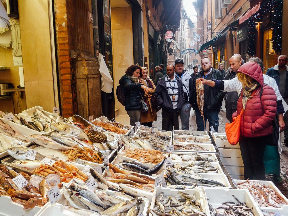 Oakman Inns Head Chefs explore the food markets in Bologna