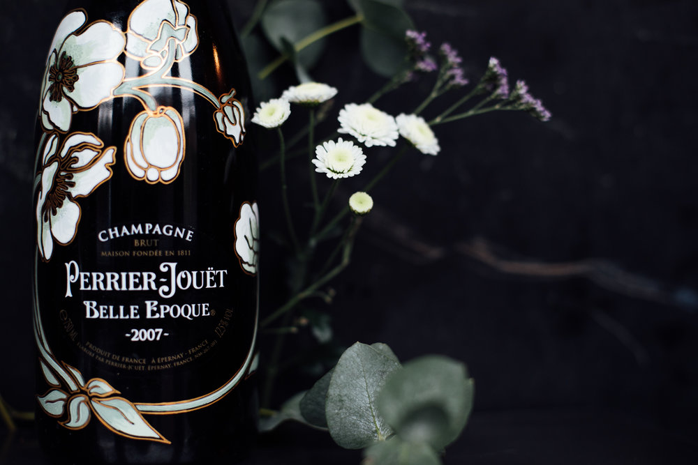 Perrier-Jouët Belle Epoque Champagne to enjoy with your meal
