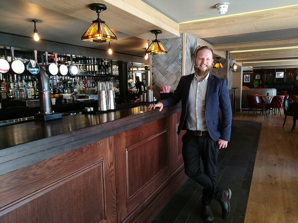 James Bird, General Manager of new Beech House in Hampton Hill opening November 2018