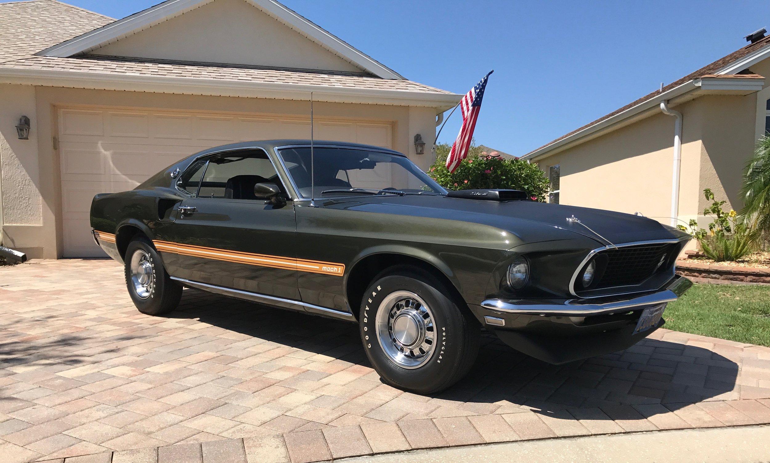 1969 ford mustang carlynn clean classics