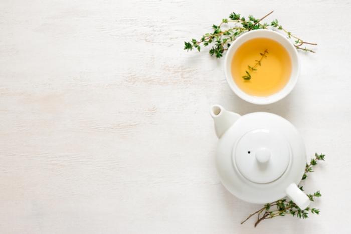 Thyme in tea